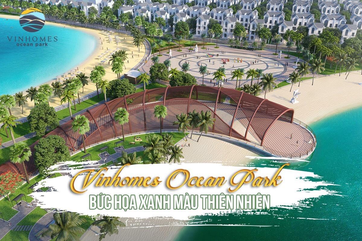 Vinhomes Ocean Park_Lake Square